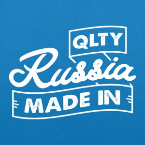 QLTY made in Russia - Borsa ecologica in tessuto