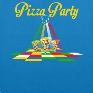 Pizza Party - Bio stoffen tas