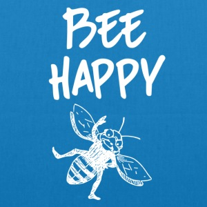 ++ ++ Bee Happy - EarthPositive Tote Bag
