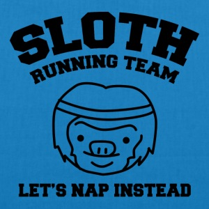 Sloth Team Funny Shirt - EarthPositive Tote Bag