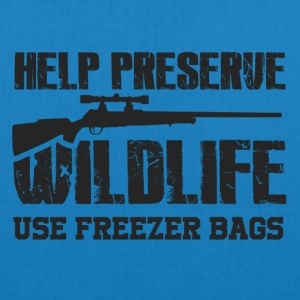 Obtaining freezer bag by wildlife - EarthPositive Tote Bag