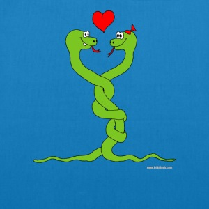 in love snakes - EarthPositive Tote Bag