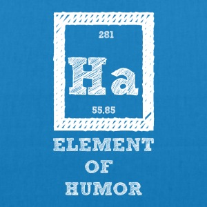 Periodic table: Ha - Element of Humor - EarthPositive Tote Bag