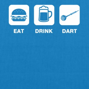 Eat Drink Dart - EarthPositive Tote Bag