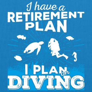 Retirement plan diving (light) - EarthPositive Tote Bag