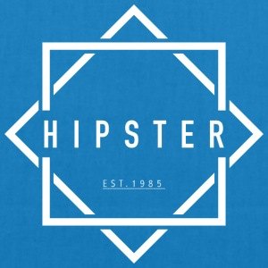 HIPSTER EST. 1985 - EarthPositive Tote Bag