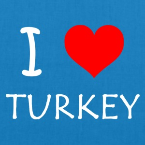 I Love Turkey - Bio-stoffveske