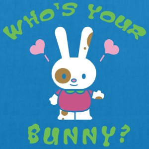 Easter Who's Your Bunny - EarthPositive Tote Bag