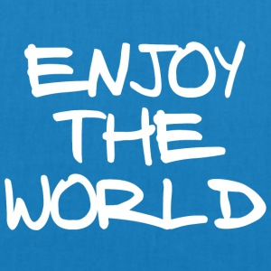 ENJOY THE WORLD - EarthPositive Tote Bag