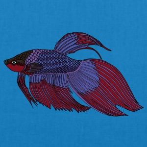 fishcoloured - Bio-stoffveske