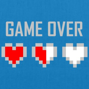 game_over_tshirt_vector_by_warumono1989-d7tn9e8 - Øko-stoftaske