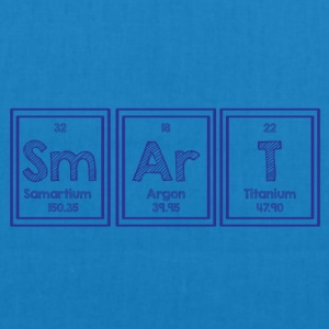 Periodic table: Sm Ar T - Smart - EarthPositive Tote Bag