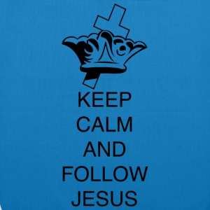 FOLLOW JESUS - EarthPositive Tote Bag