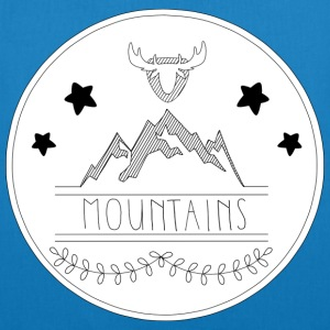 mountains - EarthPositive Tote Bag