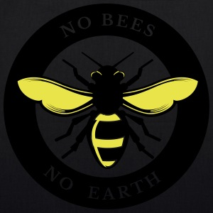 Ingen Bees, No Earth - Bio-stoffveske