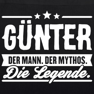 Man Myth Legend Günter - Bio-stoffveske