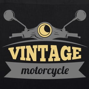 Vintage Motorcycle - EarthPositive Tote Bag