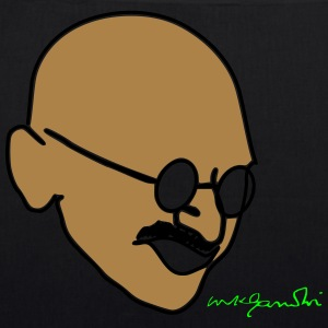 Gandhi drawing with signature - EarthPositive Tote Bag