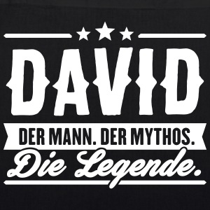 Mann Mythos Legende David - Bio-Stoffbeutel