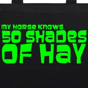 my_horse_knows_50_shades - EarthPositive Tote Bag
