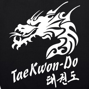 Taekwondo Dragon - EarthPositive Tote Bag