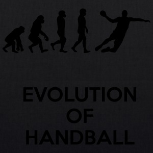 Evolution of handball - EarthPositive Tote Bag