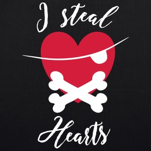 I steal Hearts - EarthPositive Tote Bag