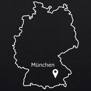 place to be: Munich - EarthPositive Tote Bag