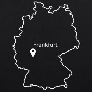 place to be: Frankfurt - EarthPositive Tote Bag