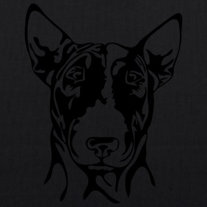 BULL TERRIER PORTRAIT - EarthPositive Tote Bag