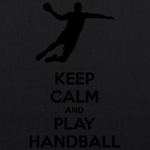keep calm and play handball - EarthPositive Tote Bag