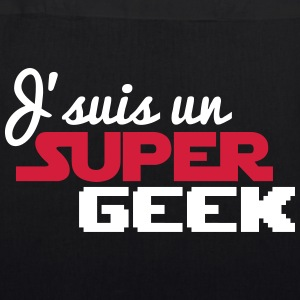 I'm a super geek - EarthPositive Tote Bag
