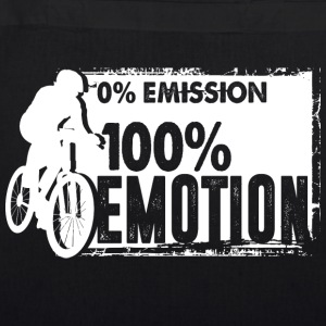 0% Emission - 100% Emotion - Bio-Stoffbeutel