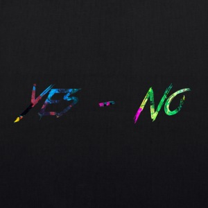 rainbow Yes-No - EarthPositive Tote Bag