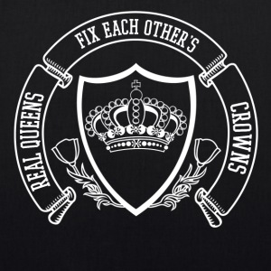 real queens fix eachothers crowns - EarthPositive Tote Bag