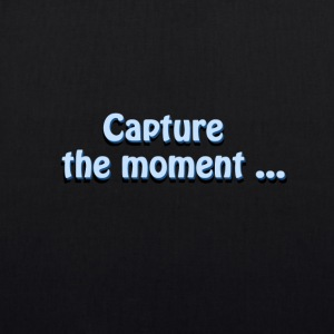 capture the moment photographer`s slogan - EarthPositive Tote Bag