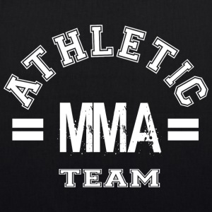MMA Athletic Team - Bio stoffen tas