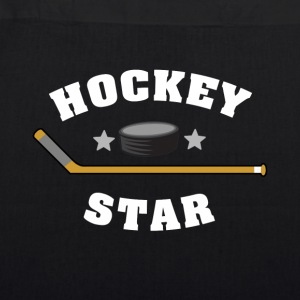 Hockey Star - EarthPositive Tote Bag