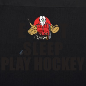 Hockey Eat Sleep Play Hockey - EarthPositive Tote Bag