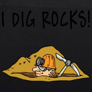 I Dig Rocks - EarthPositive Tote Bag