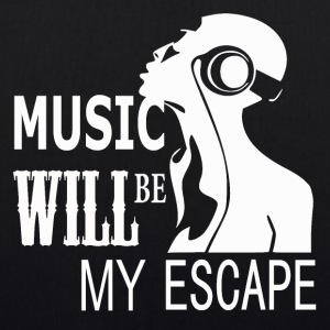 Music - My Escape - Bio-Stoffbeutel