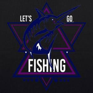 Lets go Fishing - We love Fishing!! - Bio-Stoffbeutel