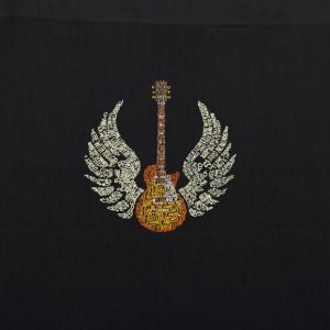 Guitar with Wings - EarthPositive Tote Bag