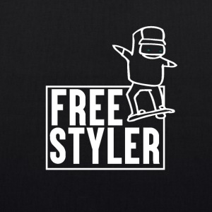 Free Styler - Snowboard - EarthPositive Tote Bag