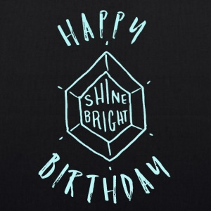 Happy Birthday T-Shirt & Hoody - Bio-Stoffbeutel