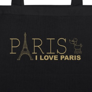 I LOVE PARIS - Øko-stoftaske