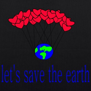 la-s_save_the_earth - Bio-stoffveske
