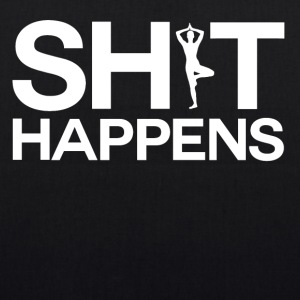 Shit Happens - Yoga - Bio-stoffveske