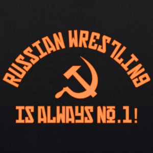 Russian Wrestling No.1 - EarthPositive Tote Bag