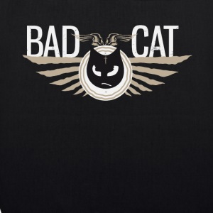 Badcat bad cat cat grim tattoostyle - EarthPositive Tote Bag